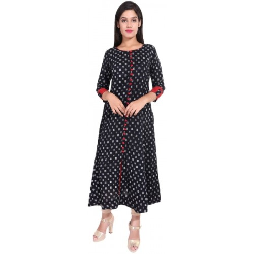 Yash Gallery Festive & Party Geometric Print Women's Kurti