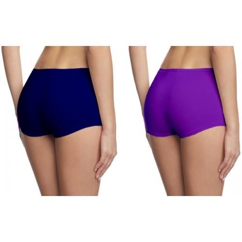 Fashion Line Women's Boy Short Multicolor Panty