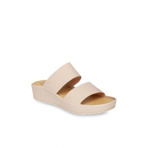 Carlton London Apricot Casual Sandals