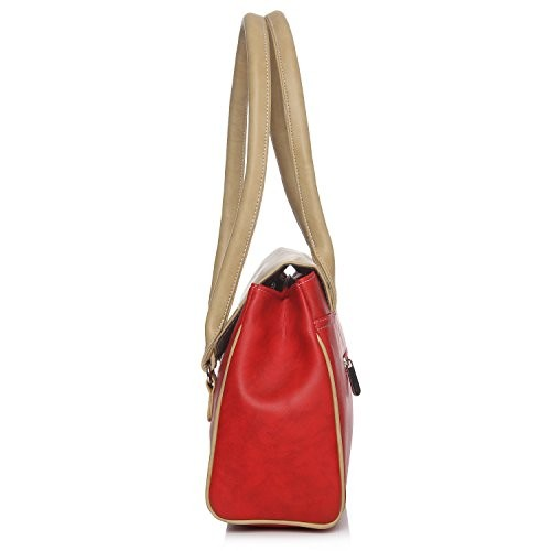 Fostelo Women's Della Handbag (Red) (FSB-717)