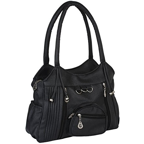 Tip Top Fashion Women Hand Bag Black Buties FD