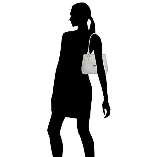 Fostelo Women's Hynes Handbag (White) (FSB-1073)