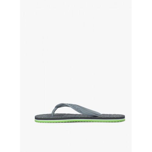 United Colors of Benetton Grey Flip Flops