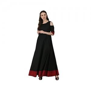 AnjuShree Choice Women Stitched Cotton Anarkali Kurti kurta