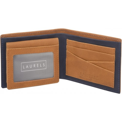 Laurels  Tan Artificial Leather Solid Wallet