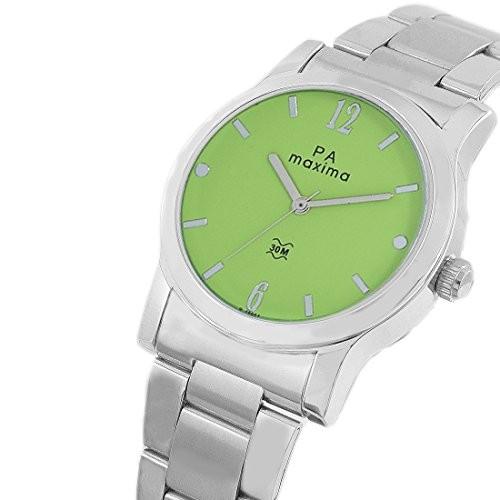 Maxima Analog Green Dial Women's Watch-O-46664CMLI