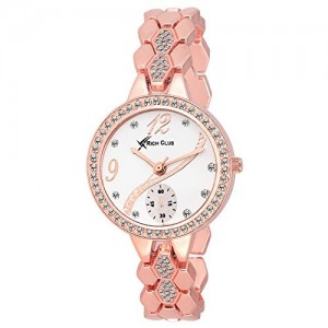 Fashion Now Analog White Dial Women's Watch