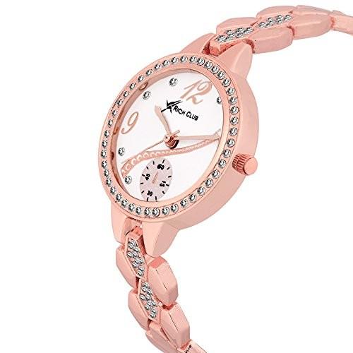 Fashion Now Analog White Dial Women's Watch