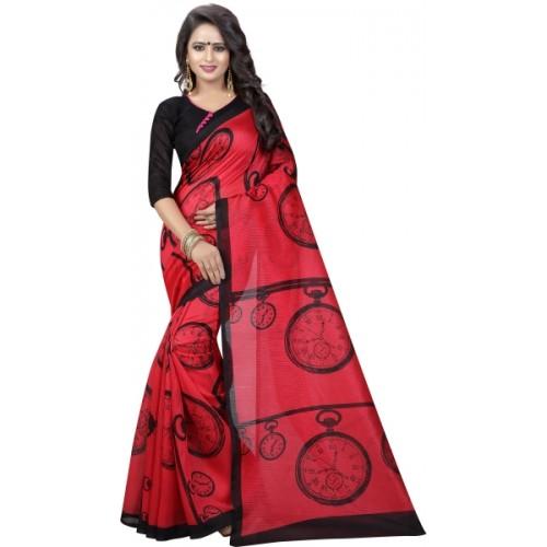 bad8f1cca57 Buy Yashika Printed Daily Wear Art Silk Saree online