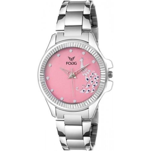 Fogg 4044-PK Modish Watch  - For Women