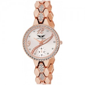 f471c753d Lois Caron LCS-4641 ROSE GOLD WATCH Watch - For Women