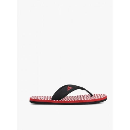 d84b502e6bf728 Buy Adidas Men Black Red Inert Flip-Flops online