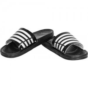 Oricum Black Casual Slides FlipFlops