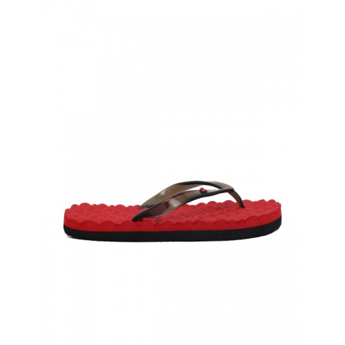 27d8c4734d63 Buy United Colors of Benetton Black   Red Solid Thong Flip-Flops ...