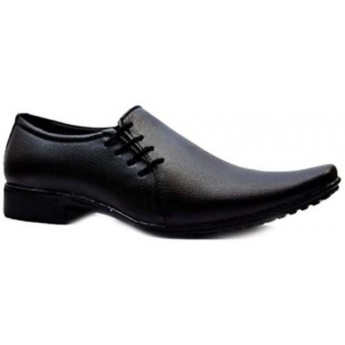 35c062eafb2 Buy Wonker Men s Black Formal Lace-up Shoes online