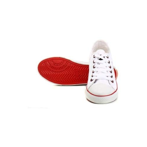 Sparx White Casual Sneakers