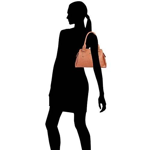 Fostelo Women's Regina Handbag (Tan) (FSB-974)