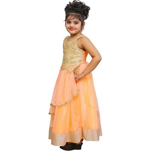 c6cff191c Buy Ishika Garments Girl s Maxi Dress online