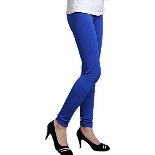 N-Gal Women's Blue Winter Leggings