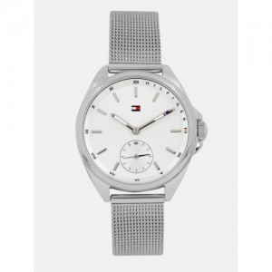 Tommy Hilfiger Women Off-White Analogue Watch NTH1781758