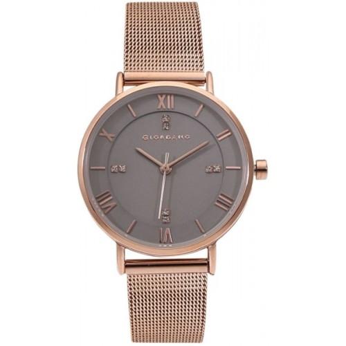 Giordano A2065-55 Rose Gold Metal Analog Watch