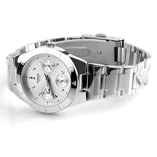 Casio Enticer Silver Dial Women's Watch - LTP-2083D-7AVDF (A529)