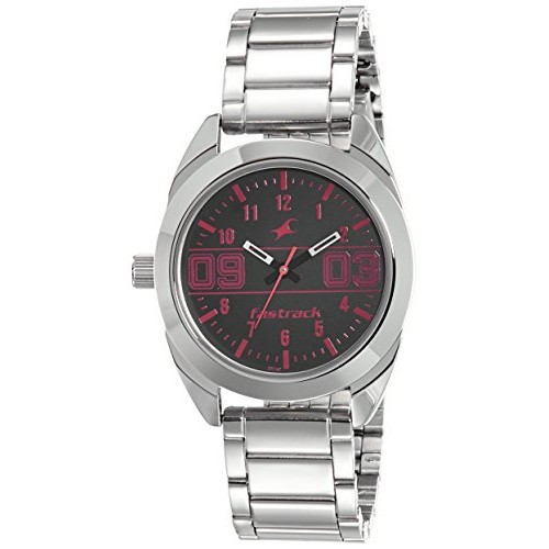 Fastrack Varsity Analog Silver Dial Women's Watch-6171SM01