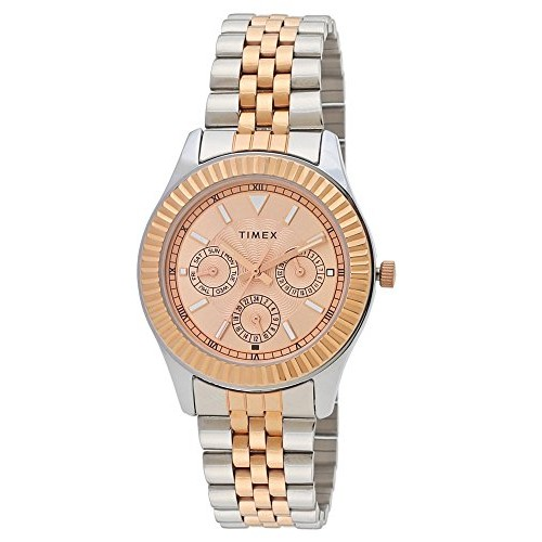 Timex Analog Brown Dial Women's Watch-TW0TL9013