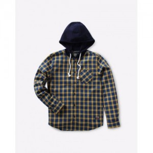 DNMX Checked Shirt with Hood