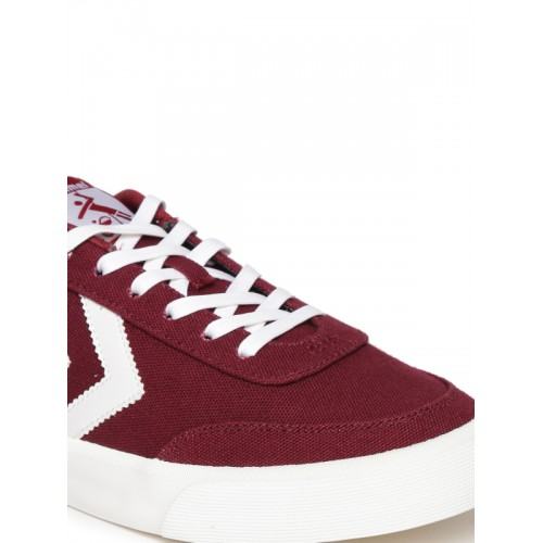 hummel Unisex Burgundy Stockholm Summer Sneakers