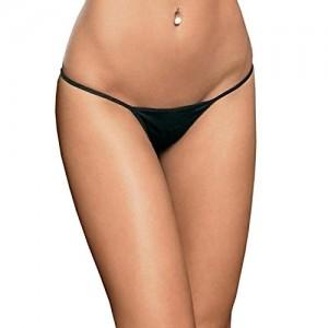Yochic Women Black G String Thong Panty