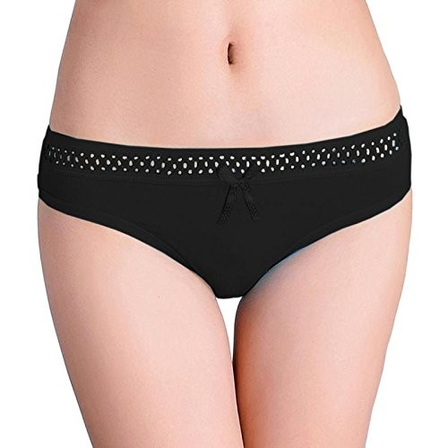 Lovemate Breathable Bow Thongs G-String Panty