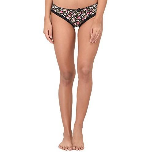 Pavvoin women's  ladies  girls bikini hipster panty with bottom lace  underwear
