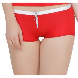 Madaam (DNPanty201Red) Red Boy Short Women's Panty