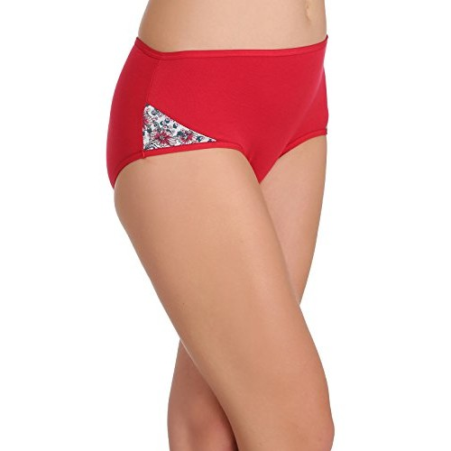 7a4971f350b ... Clovia Women s Cotton High Waist Hipster Panty With Printed Sides ...