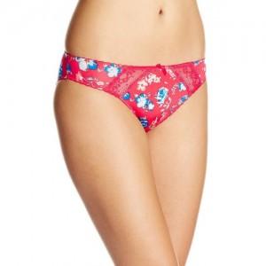 Bwitch Bwitch Red Floral Print Bikini Panty
