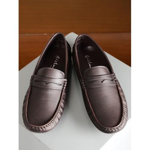cbe1fb4b5d4 Buy Mast   Harbour Men Brown Driving Shoes online