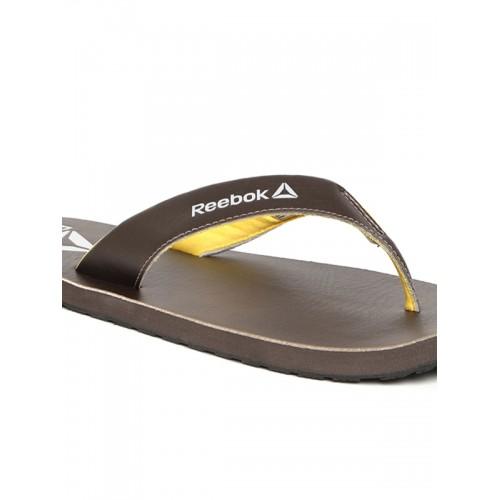 da0d46198e01 Buy Reebok Advent Coffee Brown Flip Flops online
