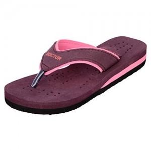 Doctor Extra Soft Pink Rubber Flip Flops