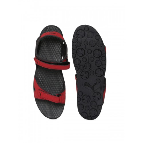 98c92a88b175be Buy Puma Men Red Starry MU IDP Sports Sandals online
