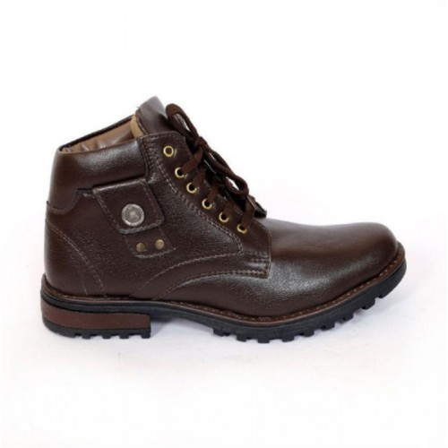 b4c202b7304 Buy DLS DLS brown casual party wear boots shoes for men's Party Wear ...