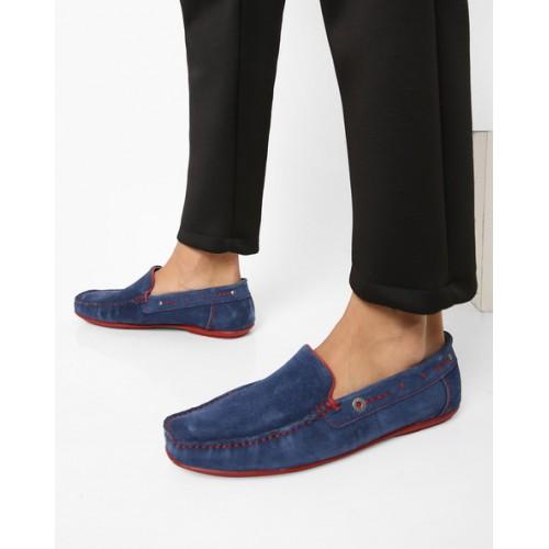 Alberto Torresi Donotepo Dress Blue Loafers