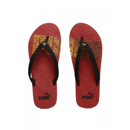 631bb01b4d3c Buy Puma Unisex Black   Red Miami Fashion II DP Flip-Flops online ...