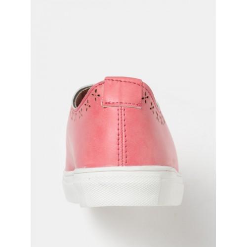DressBerry Women Pink Sneakers