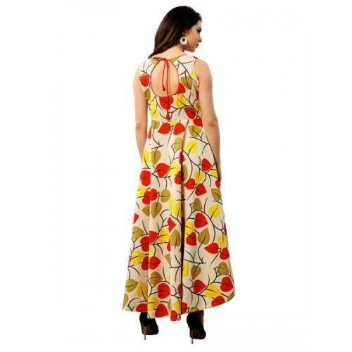 Elevate Floral Print Tail Cut Reversible Kurta