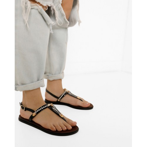 64e17d4a848 Buy AJIO T-strap Flat Sandals online