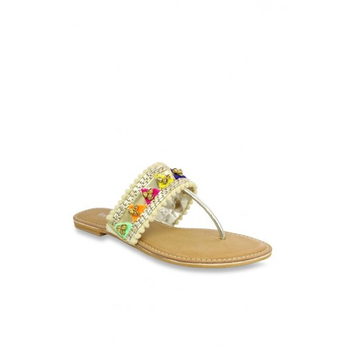 8989c3f0a9cb9 Buy Inc.5 Golden T-Strap Sandals online