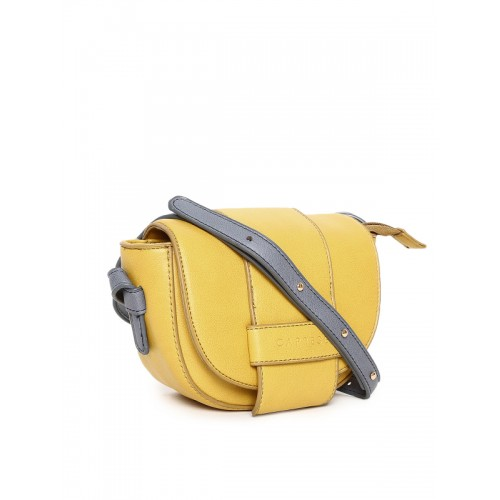 Caprese Lian Women's Sling Bag (Yellow)