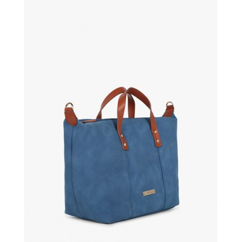 Caprese Felicia Women's Handbag (Navy)