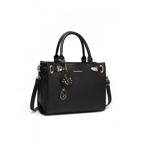 Diana Korr Women's Handbag (Black) (DK147HBLK)